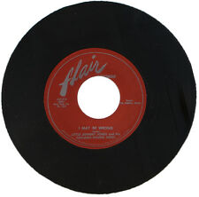 """LITTLE JOHNNY JONES And The CHICAGO HOUND DOGS  """"I MAY BE WRONG""""  R&B    LISTEN!"""