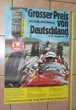 Automobilia GüNstig Einkaufen 1977 Poster Programme F1 German Grand Prix Hockenheim Niki Lauda Scheckter Stuck
