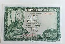 Billete España 1000 Pesetas 19 Noviembre 1965 San Isidoro S.C-