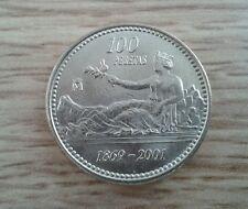100 pesetas de Juan Carlos año 2001 sc