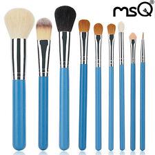 Pro 9PCs Natural Hair Makeup Brushes Sets Synthetic Foundation Powder Brush MSQ