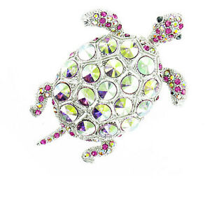 Glorious Turtle Brooch MORE COLOURS AVAILABLE