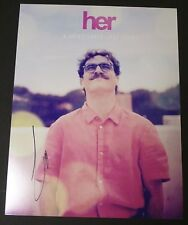 "JOAQUIN PHOENIX Authentic Hand-Signed ""HER"" 11x14 photo (PROOF)"