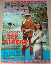 Granger Brice THE OIL PRINCE original 1 sheet movie poster 1965 Winnetou