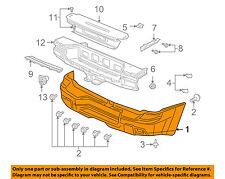 Buick GM OEM 04-07 Rainier Rear Bumper-Cover 12335749