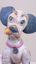 Ancien jouet CAOUTCHOUC DALMATIEN DISNEY BENDY collection jeu old toy