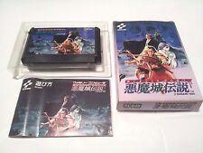 Boxed /Castlevania III Akumajo Densetsu /Famicom FC NES /Japanese Ver.