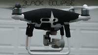 DJI Phantom 4 Pro Plus 2.0  Eclipse  WETSUIT - - watch the video