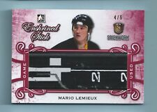 MARIO LEMIEUX 2017 IN THE GAME ITG STICKWORKS GAME USED STICK /9