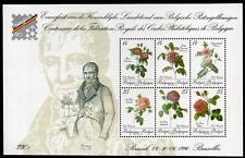 "BELGIUM MNH 1990 Stamp Exhibition ""BELGICA 90"" - Roses"