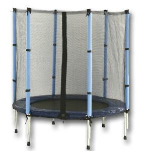 Trampolin für innen und außen Ø 137 cm inkl. Fangnetz 1083, TÜV