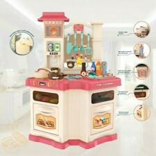 Kitchen Playset For Girls and Boys Pretend Play Toy Cooking Set Toddler Kids HH