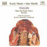 Thomas Tallis et - Messe à quatre voix / Motets - CD Album