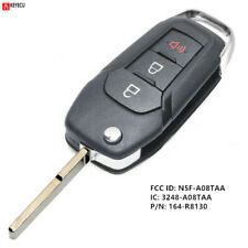 Replacement Flip Remote Key Fob for Ford F150 F250 F350 2015-2019 FCC:N5F-A08TAA