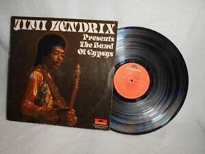 "12"" LP JIMI HENDRIX -- PRESENTS THE BAND OF GYPSYS"