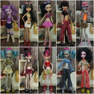 Clothes Set for Monster High Doll Outfits Shirt Pants Trousers Skirt For Bratz