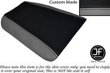 Negro y Gris se ajusta Cagiva Mito personalizado de vinilo 125 1990-1994 Trasero Cubierta de asiento solamente