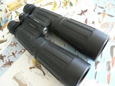 HILKINSON OLYMPIC 8 x 56 RUBBER ARMOURED ROOF PRISM  BINOCULARS  -  NICE EXAMPLE