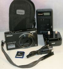 Nikon CoolPix S6100 16MP Cámara Digital