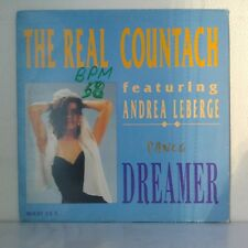 "The Real Countach Featuring Andrea Leberge ‎– Dreamer (Vinyl 12"", Maxi 33 Tours)"