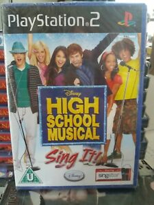 PlayStation High School Musical SING It DVD New Sealed