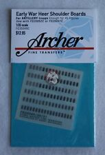 Archer 1/35 Early War Heer Shoulder Boards for Artillery Troops FG35049C
