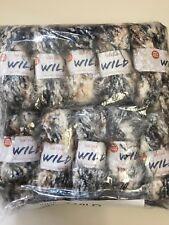 Joblot 250g Sirdar Wild Fur Yarn 400 Chinchilla