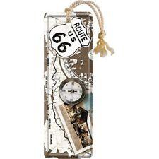 Nostalgic-art - Signet - 5x15cm - Route 66 Compass