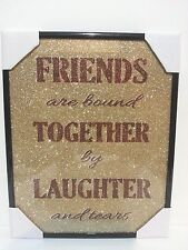 """FRIENDS""  Inspirational Wall Picture, Wall Plaque NEW"