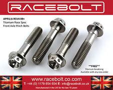 Aprilia RSV4 Front Axle Pinch Bolt Kit - Racebolt Titanium Race Spec