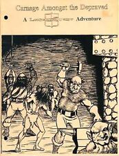CARNAGE AMONGST THE DEPRAVED  A LegendQuest Adventure Module BE-1260