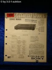 Sony Service Manual ST S444ESX / S700ES Tuner (#0658)