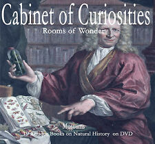 CABINETS OF CURIOSITIES MUSEUMS Seba,Gessnor, 19 Books on DVD