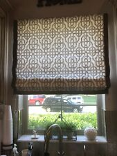 roman shades fabric - window coverings