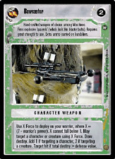 Bowcaster [slight wear] A NEW HOPE LIMITED BB star wars ccg swccg