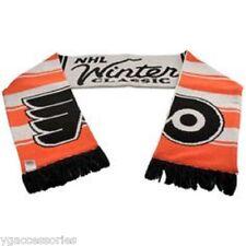 NWT NHL Philadelphia Flyers Reebok Winter Classic Knit Tassel Scarf NEW!