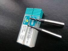 2 off TaeguTec coated solid carbide 3mm 2 flute slot drills HES 2030T TT9030