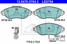 Ceramic Bremsbelagsatz, Scheibenbremse Vorderachse ATE 13.0470-2764.2
