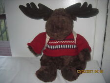 """Mac the Moose by American Outfitters 17"""" Tall Sitting"""