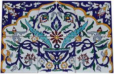 Fliesenbild Keramikfliesen Orient Handbemalt Wandfliesen Mediterran Mosaik 06 29