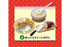 Re-ment Sanrio Miniature Hello Kitty Dessert Cafe Cake Sweet Potato Pie - No.2