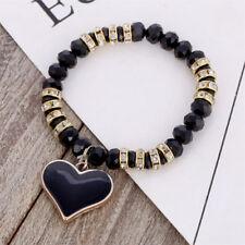 Markenlose Echtschmuck-Halsketten & -Anhänger mit Herz-Perlen