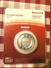 """Honeywell"" #Ct87N Round Non-Programmable Thermostat Heating & Cooling New!"