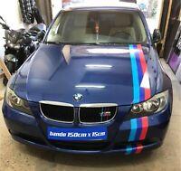 1 bande capot, toit M3 BMW M-performance 150cm x 15cm
