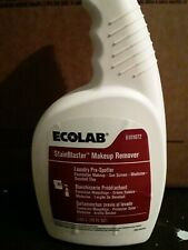 Ecolab stain blaster make up remover 22oz 6101072 Bundle of 3