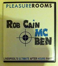 Pleasure Rooms Rob Cain and MC Ben - RARE RARE RARE
