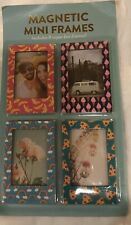 Super Fun & Cute Mini Magnetic Frames~Set Of 8~Perfect For The Fridge Or Lockers