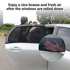 2pcs Car Side Window Sun Visor Shade Mesh Cover Shield Sunshade UV Protector