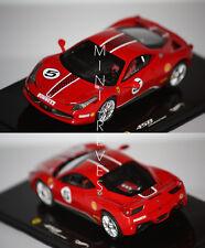 Hotwheels Elite Ferrari 458 Challenge 2010 rouge 1/43 X5504