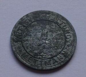 Notgeld: Germany, Mettmann 5 Pfennig 1917, War money, Emergency coin
